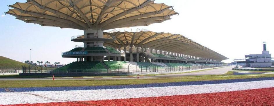 Malaysian Sepang International f1 circuit